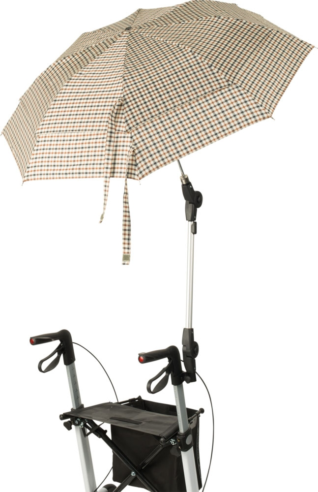 640063 - Regenschirm mit Halterung zum Rollator Vital von Russka