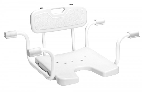 Badewannensitz Spezial mit Rückenlehne Sitz für Badewanne