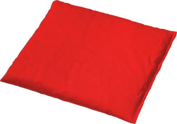 Kirschkernkissen rot 19 x 19 cm