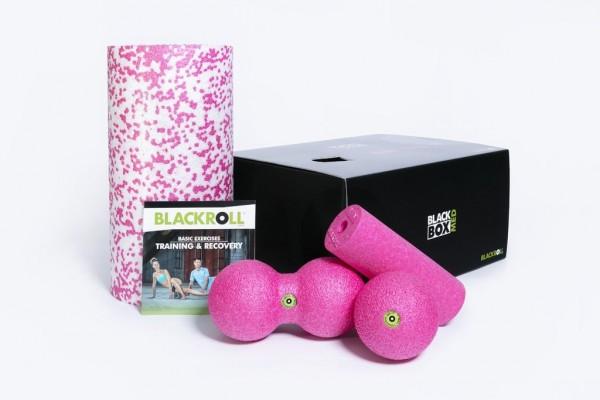BLACKROLL® BLACKBOX MED SET Pink
