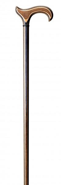 Gehstock aus Edelholz L-Derby Actionwood Pecan Multiplex-Holz Gehhilfe Spazierstock