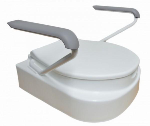 Stock-Fachmann Toilettensitzerhöher mit Armlehnen
