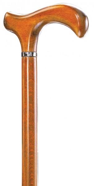 Gehstock Melbourne Classic Cognacfarben