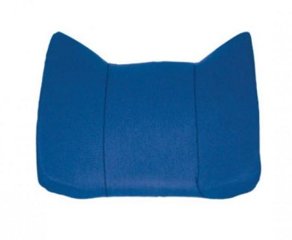 Rückenstützkissen ca. 35x32cm Farbe: blau