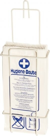 Wandhalterung für Hygienebeutel
