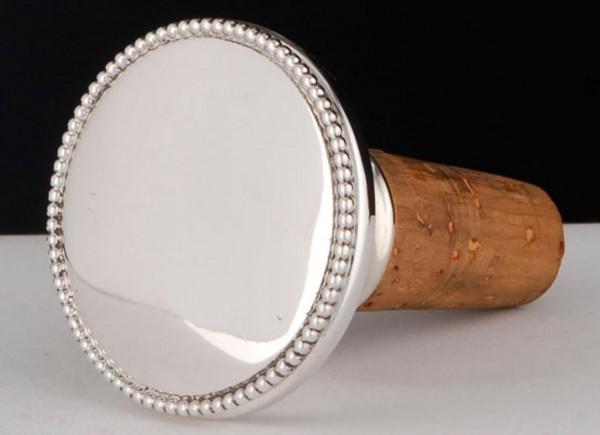 Flaschenkorken Perl von Möhrle Silber - Sterling Silber