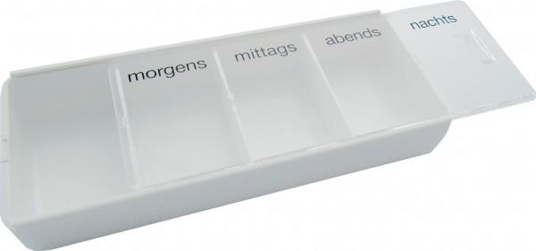 Tablettendose Tablettenbox 4 Fächer