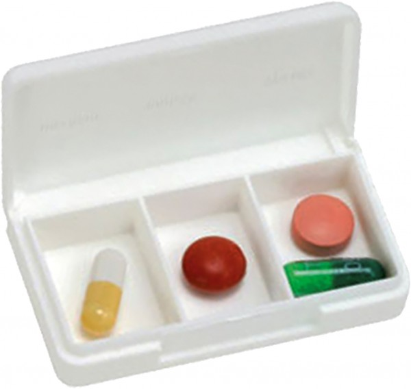 Tablettendose 3 Fächer