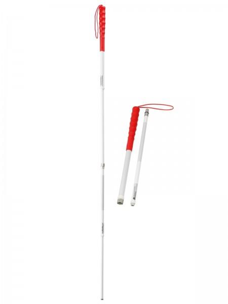 Teleskopierbarer & Zerlegbarer Kellererstock / zerlegbar Blindentaststock ink. Gewinde