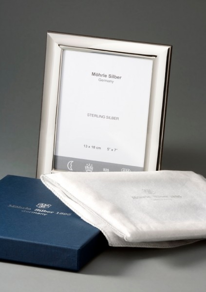 Bilderrahmen Silber von Mörhle Silber Deutschland