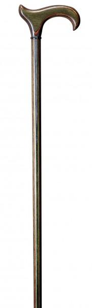Gehstock aus Edelholz L-Derby Actionwood Forest Multiplex-Holz Gehhilfe Spazierstock