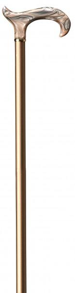 Gehstock höhenverstellbar Perlmutt beige-grau
