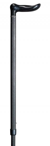 Gehstock aus Carbon Ergo Dynamik Höhenverstellbar Gehhilfe Spazierstock
