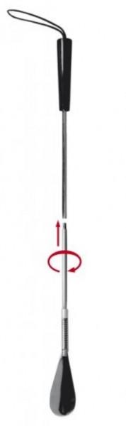 Schuhlöffel mit beweglicher Feder 65cm