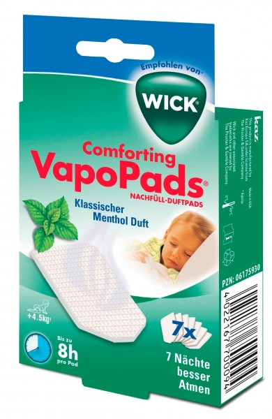 Wick Vapo Pads 7 Menthol