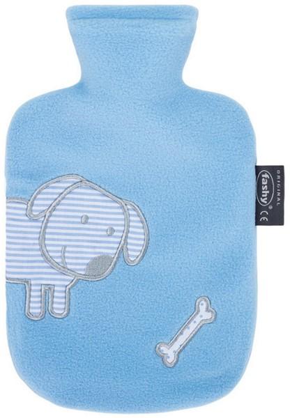 fashy® Kinder Wärmflasche 0,8 l hellblau