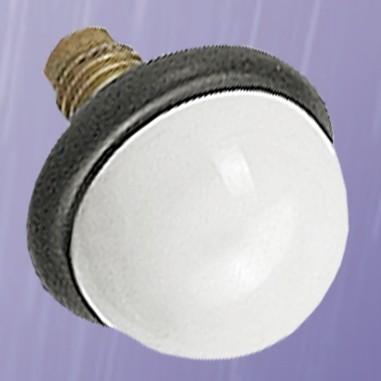 Weiße Hartkeramikspitze für Taststöcke, 25 mm