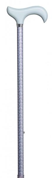 Gehstock höhenverstellbar Flora-Flieder