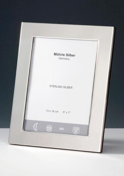 Bilderrahmen Silber glatt schwer von Mörhle Silber Deutschland