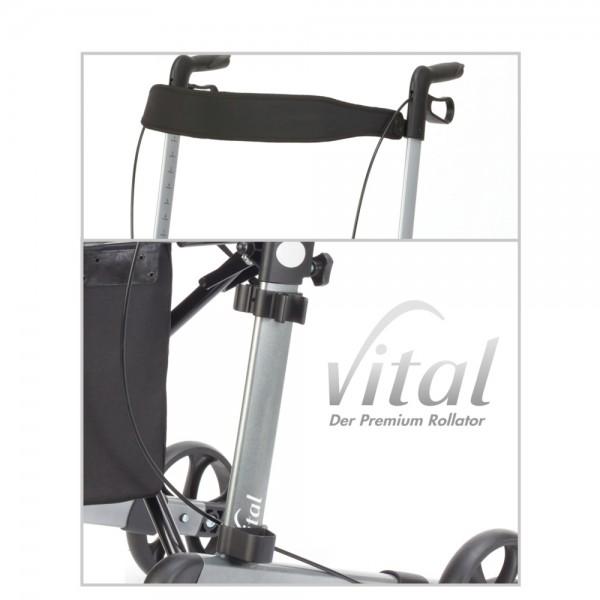 Komfort-Zubehörpaket zum Rollator vital I