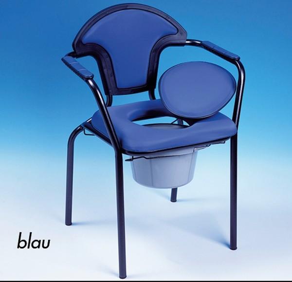 "Russka Toilettenstuhl ""Standard modern"", blau"