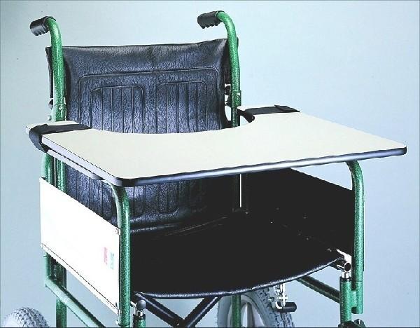 Rollstuhltablett aus Kunststoff