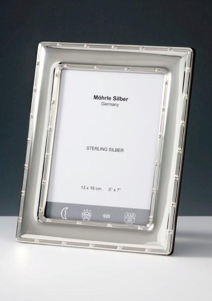 Silberrahmen Bilderrahmen Silber Kreuzband von Mörhle Silber Deutschland