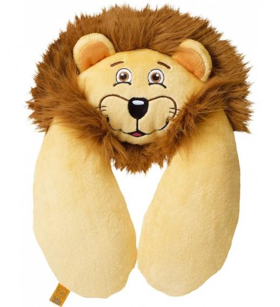 Kinder Nackenkissen Lion Neck Pillow Löwe Reiskissen