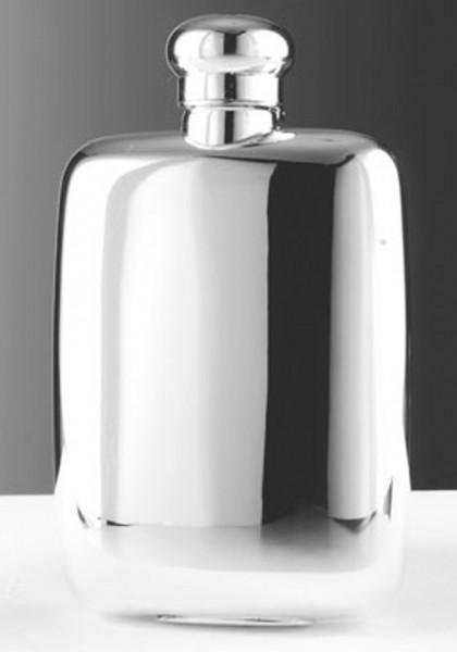 Taschenflasche mit Bajonettverschluss aus Sterling Silber