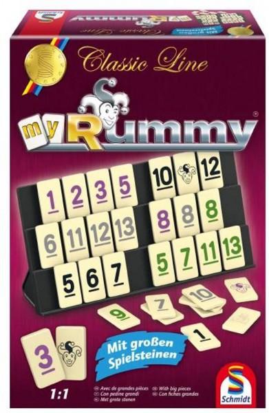 Classic Line MyRummy® mit großen Spielfiguren