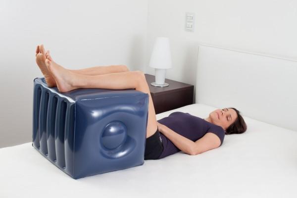 Aufblasbarer Entspannungswürfel