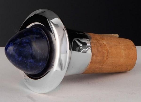 Flaschenkorken mit Sodalith von Möhrle Silber - Sterling Silber