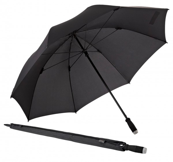 Euroschirm birdiepal compact Regenschirm Golfschirm Stockschirm extra breit manuelle Öffnung