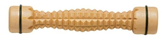 Fußroller aus Holz Noppenstruktur