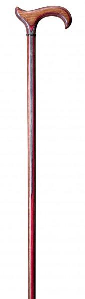 Gehstock aus Edelholz L-Derby Actionwood Wine Multiplex-Holz Gehhilfe Spazierstock