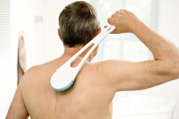 Rücken-Cremer weiß/mint