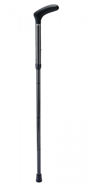 Carbon Faltstock 100 kg - Raute schwarz glänzend