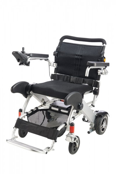 MovingStar faltbarer Elektrischer Rollstuhl Modell 102 schwarz