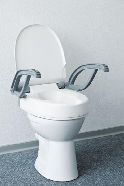 Swereco Toilettensitzerhöher »Flush«, mit Armlehnen, 10 cm